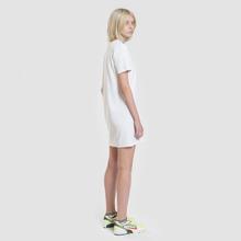 Женское платье Tommy Jeans Graphic Tee Classic White фото- 3