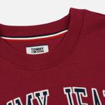 Женское платье Tommy Jeans Logo Sweat Rumba Red фото- 1
