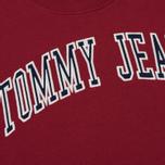 Женское платье Tommy Jeans Logo Sweat Rumba Red фото- 2