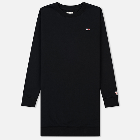 Женское платье Tommy Jeans Tommy Classic Sweat Black