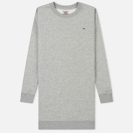 Женское платье Tommy Jeans Tommy Classic Sweat Light Grey Heather
