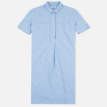 YMC Lightweight Oxford Women's Dress Blue photo- 0