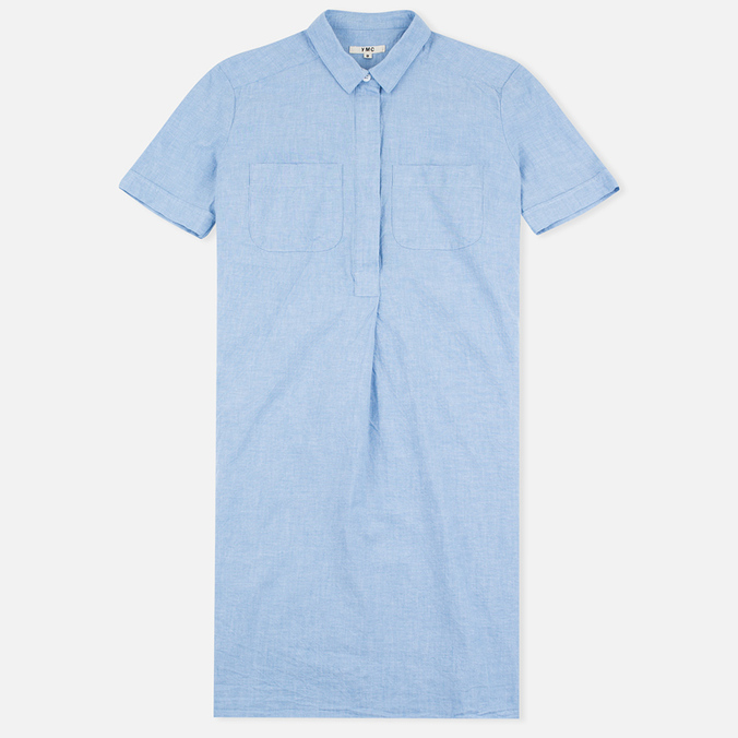 YMC Lightweight Oxford Women's Dress Blue