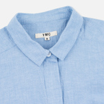 YMC Lightweight Oxford Women's Dress Blue photo- 1