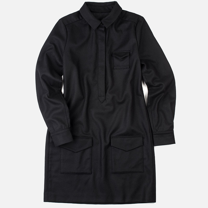 Женское платье YMC Wool Black