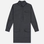 Женское платье YMC Wool Shirt Grey Marl фото- 0