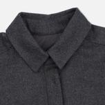 Женское платье YMC Wool Shirt Grey Marl фото- 1