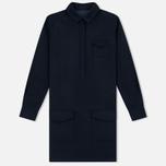Женское платье YMC Wool Shirt Navy фото- 0