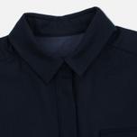 Женское платье YMC Wool Shirt Navy фото- 1