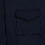 Женское платье YMC Wool Shirt Navy фото- 2