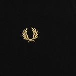 Женское поло Fred Perry G12 Black/Champagne/Champagne фото- 3