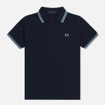 Женское поло Fred Perry G12 Navy/Ice фото- 0