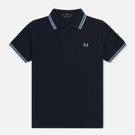 Женское поло Fred Perry G12 Navy/Ice