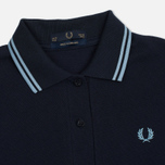 Женское поло Fred Perry G12 Navy/Ice фото- 1