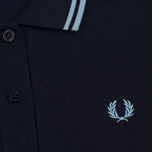 Женское поло Fred Perry G12 Navy/Ice фото- 2