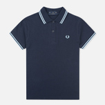 Fred Perry G12 Women's Polo Navy/Ice photo- 0