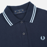 Fred Perry G12 Women's Polo Navy/Ice photo- 1