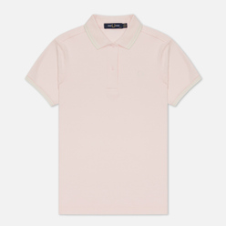 Женское поло Fred Perry G3600 Iced Pink/White/White