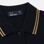 Женское поло Fred Perry G3600 Navy/Gold/Gold фото- 1