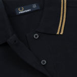 Женское поло Fred Perry G3600 Navy/Gold/Gold фото- 3