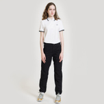 Женское поло Fred Perry G3600 Twin Tipped White/Black фото- 4