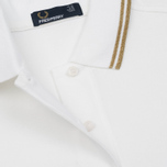 Женское поло Fred Perry G3600 White/Gold/Gold фото- 3