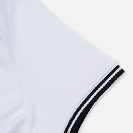 Женское поло Fred Perry x Amy Winehouse Heart Detail Pique White