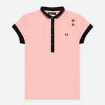 Женское поло Fred Perry x Amy Winehouse Pique Amy Pink фото- 0
