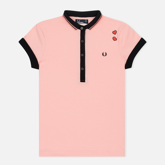 Женское поло Fred Perry x Amy Winehouse Pique Amy Pink
