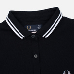 Женское поло Fred Perry x Amy Winehouse Pique Black фото- 1