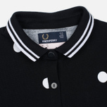 Женское поло Fred Perry x Amy Winehouse Polka Dot Pique Black фото- 1
