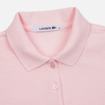 Женское поло Lacoste Slim Fit Stretch Pique Flamingo фото- 1