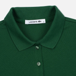 Женское поло Lacoste Slim Fit Stretch Pique Green фото- 1