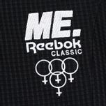 Женское поло Reebok x Melody Ehsani Cropped Pique Black фото- 3