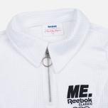Reebox x Melody Ehsani Cropped Pique Women's Polo White photo- 1