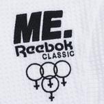 Reebox x Melody Ehsani Cropped Pique Women's Polo White photo- 3