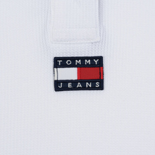 Женское поло Tommy Jeans Tommy Badge Classic White фото- 2