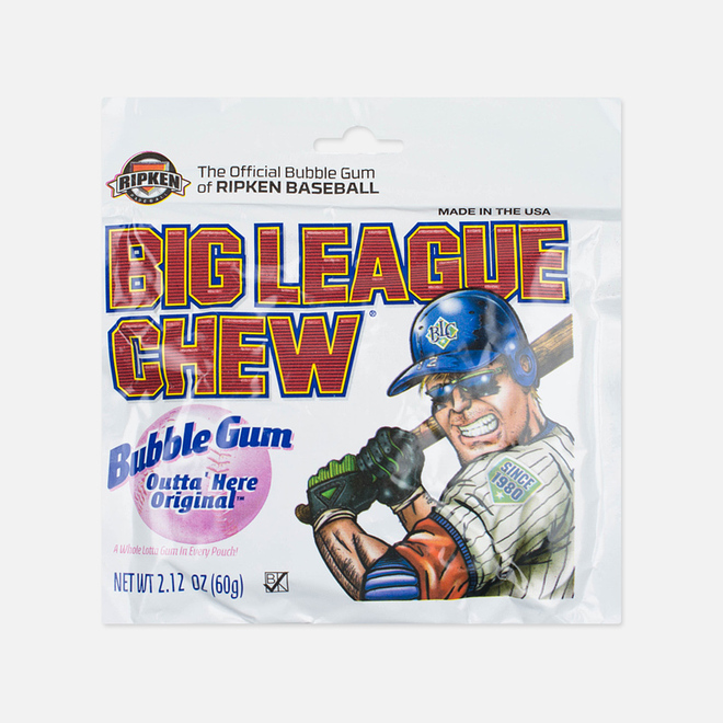 Жевательная резинка Big League Chew Original