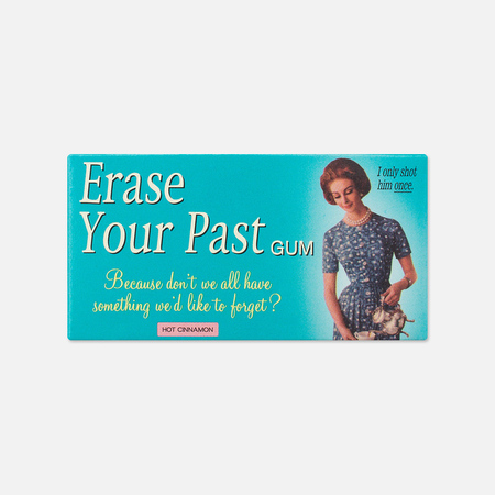 Blue Q Erase Your Past Chewing Gum