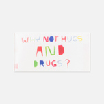 Жевательная резинка Blue Q Why Not Hugs & Drugs фото- 0