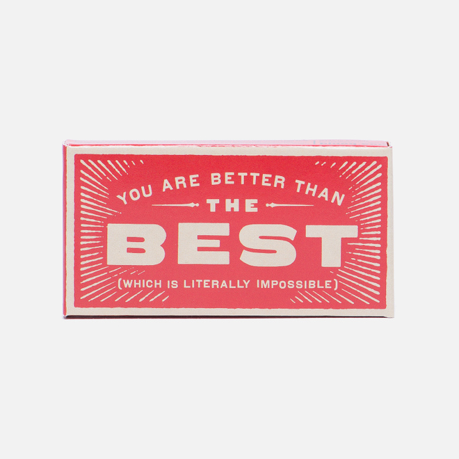 Жевательная резинка Blue Q You Are Better Than Best