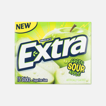 Extra Sour Apple Chewing Gum