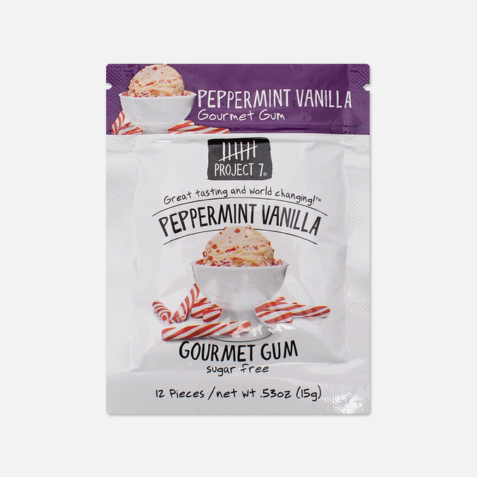 Project 7 Peppermint Vanilla Chewing Gum
