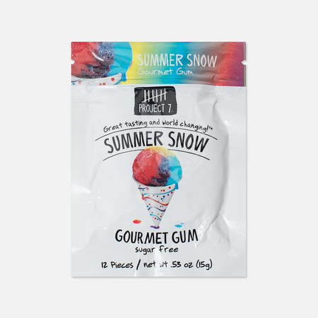 Project 7 Summer Snow Chewing Gum
