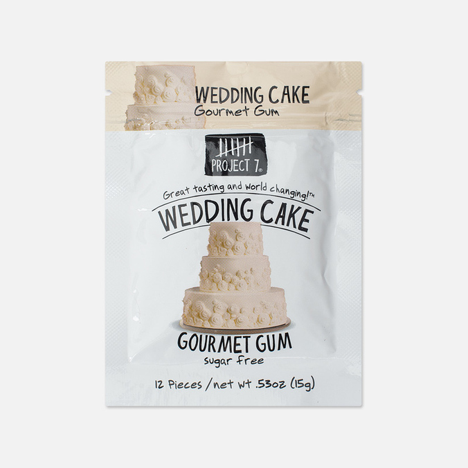 Project 7 Wedding Cake Chewing Gum