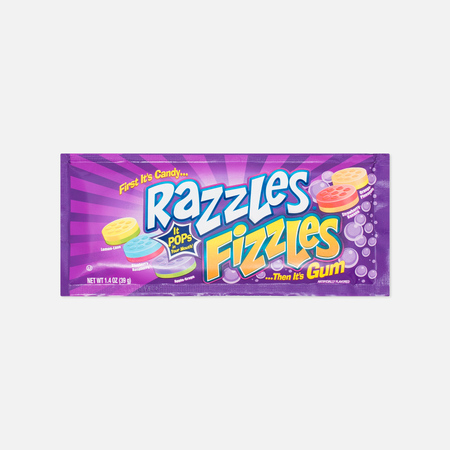 Razzles Fizzles Pop Chewing Gum