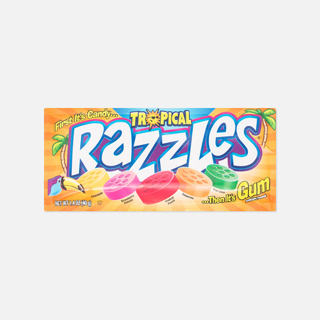 Razzles Tropical Chewing Gum