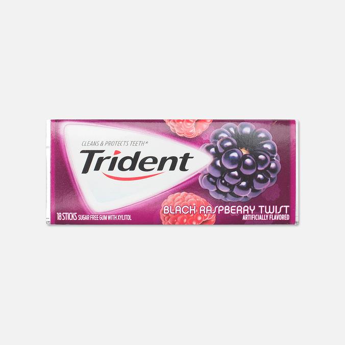 Жевательная резинка Trident Blackberry