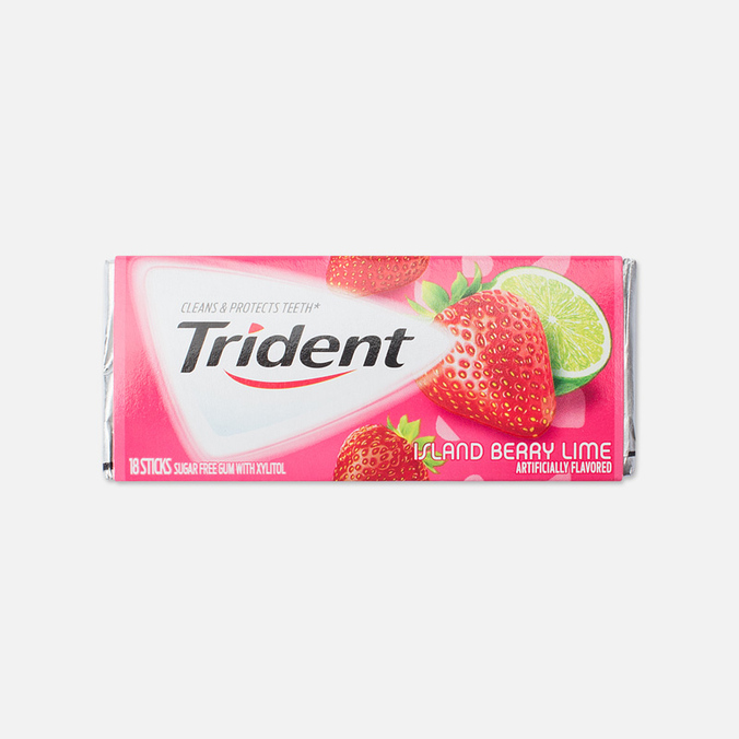 Trident Island Berry Lime Chewing Gum