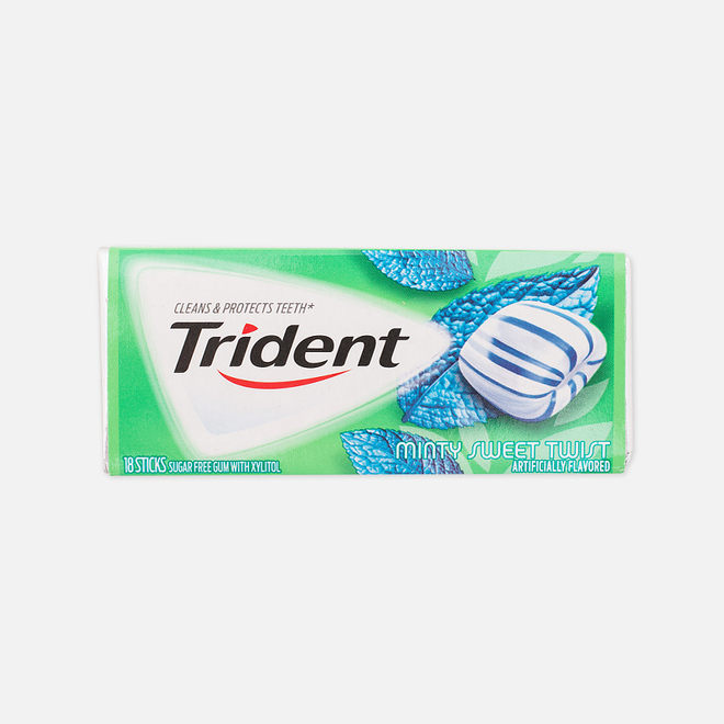 Жевательная резинка Trident Minty Sweet Twist